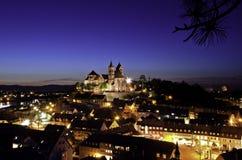 莱茵河畔布赖萨上午莱茵德国德国 免版税库存图片
