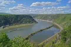 莱茵河 库存照片