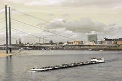 莱茵河 免版税库存照片