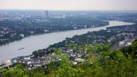 莱茵河 库存图片