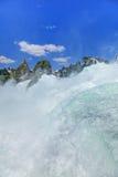 莱茵瀑布 免版税图库摄影
