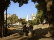 莱萨马公园在布宜诺斯艾利斯 免版税库存图片