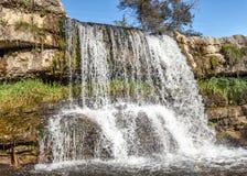 莱蒙托夫瀑布 库存图片