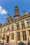 莱顿大学的主楼  库存照片