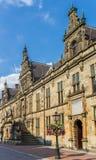 莱顿大学的主楼  库存图片