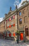 莱顿大学的Gravensteen大厦  库存图片