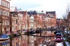 莱顿市,荷兰 免版税库存图片