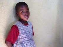 莱索托女孩 免版税库存照片