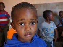 莱索托男孩 图库摄影