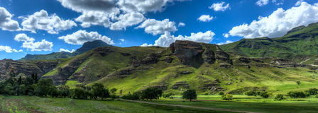 莱索托风景 免版税库存照片