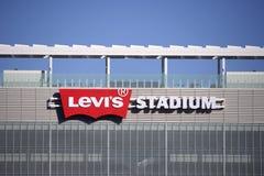 莱维斯体育场圣克拉拉Calif 免版税库存图片