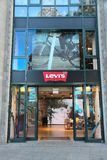 莱维` s品牌 库存照片