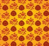 莲花墙纸 向量例证