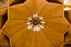 莲花寺庙,位于新德里,印度,是Bahai教堂 库存图片