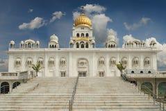 莲花寺庙,位于新德里,印度,是Bahai议院 免版税库存照片