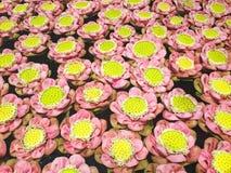 莲花的样式 免版税库存图片