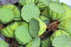 莲花种子在市场上 免版税图库摄影