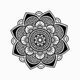莲花设计 库存图片