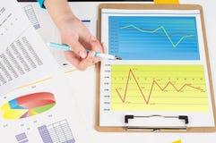 获利能力分析 免版税图库摄影
