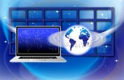 获取全球信息技术 图库摄影