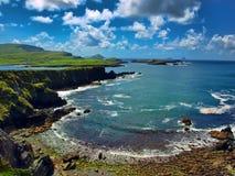 获取爱尔兰风景凯利的环形 免版税库存图片