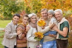 获得大愉快的家庭乐趣 库存图片