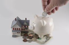 获得房屋贷款 库存照片