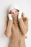 获得的天气冷颤。 免版税库存图片