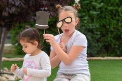 获得的孩子乐趣 免版税库存图片