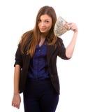 获得的货币 免版税库存图片