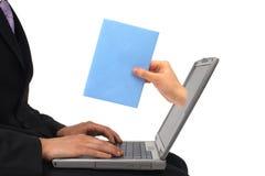 获得的邮件您 免版税库存照片