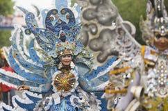 获得从货币贬值的好处的印度尼西亚 图库摄影