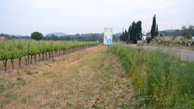 菜农场的宽射击在高速公路附近的 影视素材