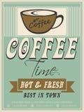 菜单咖啡馆的卡片设计 图库摄影