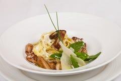 菜单的食物餐馆 免版税库存图片