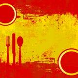 菜单西班牙语 免版税库存图片