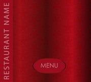 菜单餐馆 免版税库存照片
