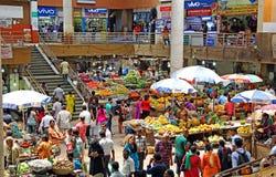 菜和水果市场在Panjim,果阿 免版税库存图片