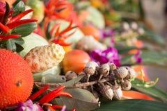 菜和草本健康食物的 库存照片