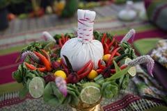 菜和草本健康食物的 库存图片