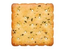 菜咸薄脆饼干 库存图片