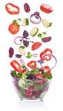 菜沙拉。 库存图片