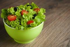 菜沙拉 免版税库存图片