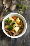 菜Stew.herbes de普罗旺斯 免版税库存图片