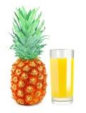 菠萝汁 免版税库存照片