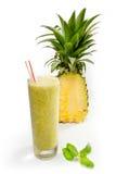 菠萝汁 免版税库存图片