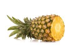 菠萝没有隔绝白色背景 免版税库存图片