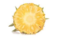 菠萝没有隔绝白色背景 库存照片