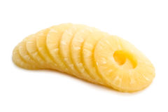 菠萝片式 图库摄影