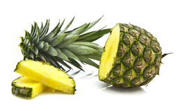 菠萝片式 免版税图库摄影